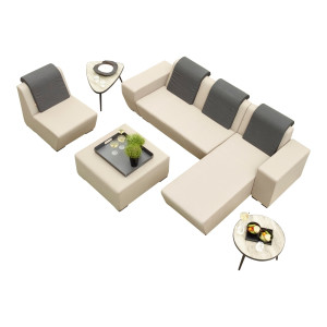 Life Outdoor Living Nuna Loungeset - Khaki