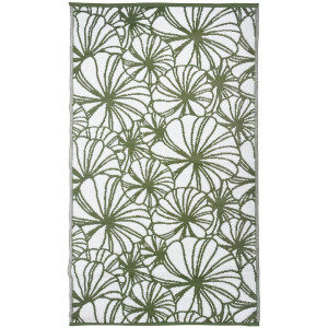 Esschert Design Buitenkleed Tweezijdig - Flower Leaves