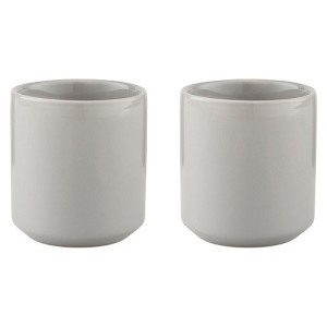 Stelton Core Thermische Mok 0,2 L Set van 2 - Light Grey