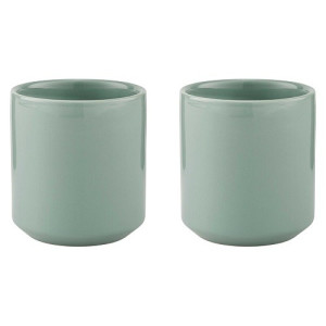 Stelton Core Thermische Mok 0,2 L Set van 2 - Dusty Green