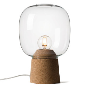 PICIA TABLE LAMP CLEAR GLASS