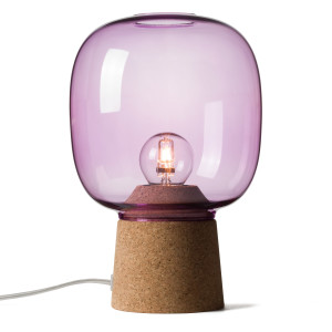 PICIA TABLE LAMP ORCHID PURPLE