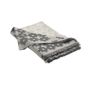 Hay Plus 9 Plaid 145 x 215 cm - Grey