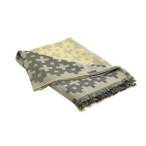 Hay Plus 9 Plaid 145 x 215 cm - Yellow