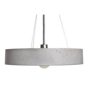 ROTA Grey Concrete Pendant Lamp