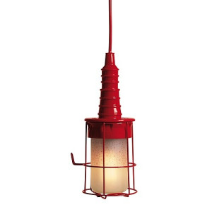 Seletti Ubiqua Design Industrie Lamp - Rood