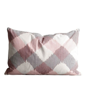 Tine K Home Kussenhoes Pringle Roze - 50 x 75 cm
