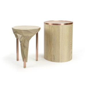 Side table & stool