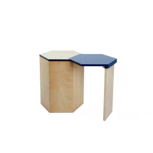 Side table / stool for small livings