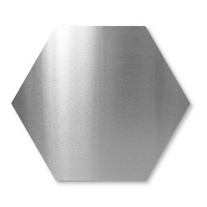 Trendform Element Magneetbord Hexagon - Zilver