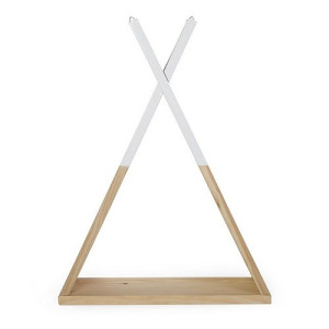 Childwood Wandrek Hout Wit 35x47 cm - Tipi