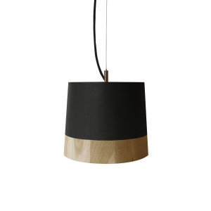 KIKKE & HEBBE Boost Pendant Lamp Wood - Ink Black