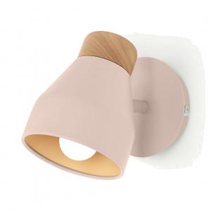 Albert wandlamp, roze