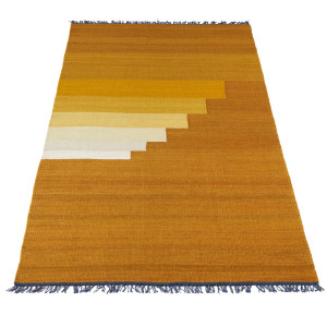 &tradition Another Rug vloerkleed 90x240 Yellow Amber