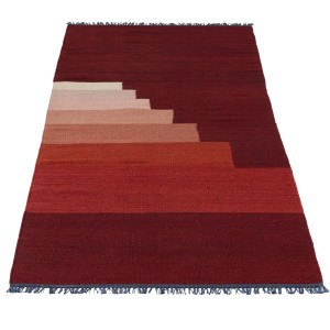 &tradition Another Rug vloerkleed 90x240 Red Vulcano