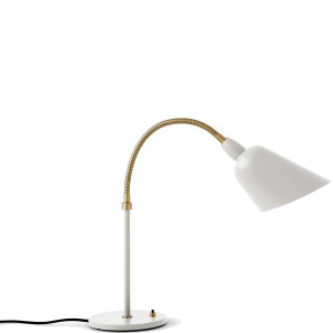 &tradition Bellevue bureaulamp Ivory White & Brass