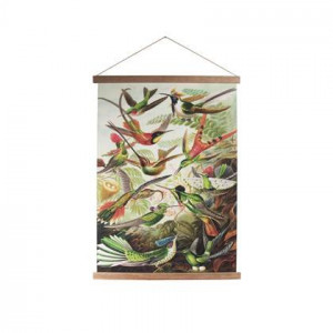 """Art for the Home Birds Textielposter """