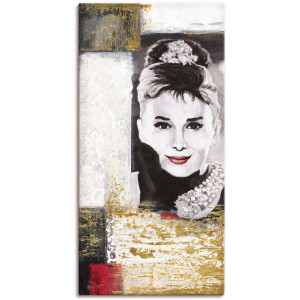 Artland artprint Hollywood Legenden VI - Audrey Hepburn