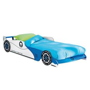Autobed Grand Prix - blauw, Kids Club Collection