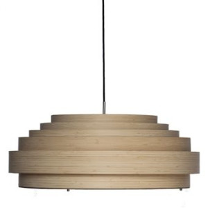 Ay Illuminate Thin Wood Hanglamp L