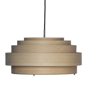 Ay Illuminate Thin Wood Hanglamp M