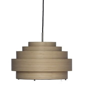 Ay Illuminate Thin Wood Hanglamp S