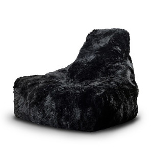 Extreme Lounging b-bag mighty-b Sheepskin zitzak - Zwart