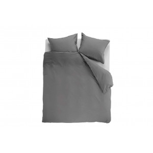 Beddinghouse Basic Gots Dekbedovertrek Grey