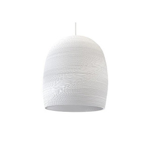 Graypants Bell 16 Hanglamp Wit - 40 cm