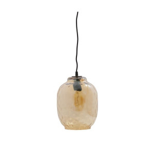 BePure Bubble Hanglamp glas antique brass