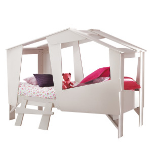 Bed Uji - beige, Kids Club Collection