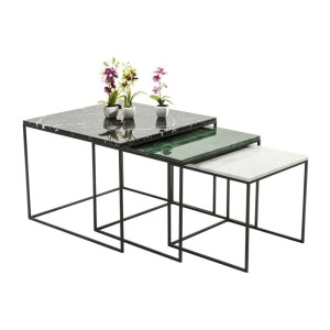 Kare Design East Coast Bijzettafel 3set