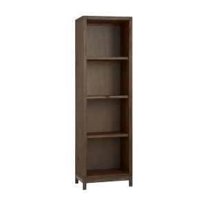 Tower Living Boekenkast 'Corfu' kleur smoke brown