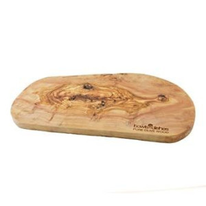 Bowls and Dishes Pure Olive Wood Tapasplank XB L