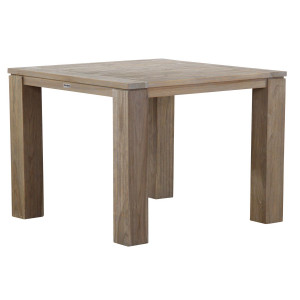 Garden Collections Brighton dining tuintafel 100 x 100 cm