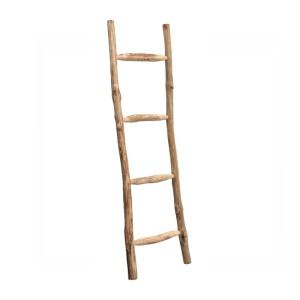 Brix Larry Teakhouten decoratieve ladder