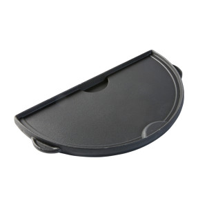 Big Green Egg | Half Moon Cast Iron Griddle | 2XL, XL | op=op