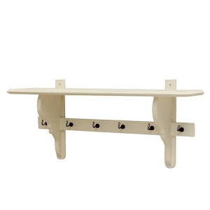 Timzowood Living Charmante Console Kapstok 100 cm - Wit