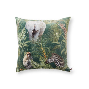 Claudi Eco Bibi Tropical Safari sierkussen 60 x 60 cm