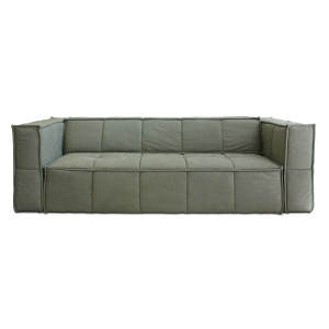 HKliving Couch bank 3-zits army green