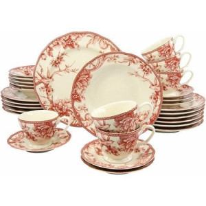 CreaTable combi-servies 'Adelaide' (30-delig)