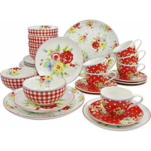 CreaTable combi-servies 'Liz' (30-delig)