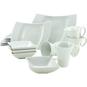 CREATABLE combi-servies, porselein, 16-delig, WING