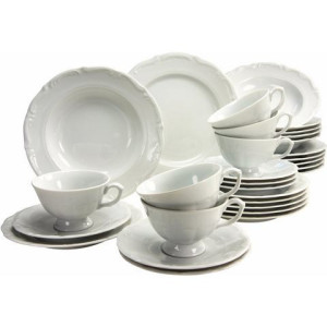 CreaTable combi-servies, porselein, 30-delig, Maria Theresia