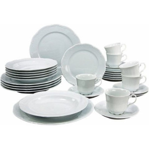 CreaTable combi-servies, porselein, 30-delig, SAN MARCO