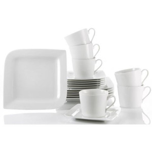 CreaTable koffieservies, porselein, 18 delen, FANTASIA