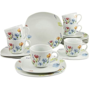 CreaTable koffieservies, porselein, 18-delig, Julia