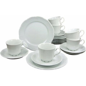 CreaTable koffieservies, porselein, 18-delig, SAN MARCO