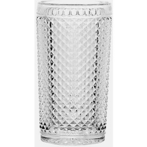 CreaTable longdrinkglas, set van 6, DIAMOND