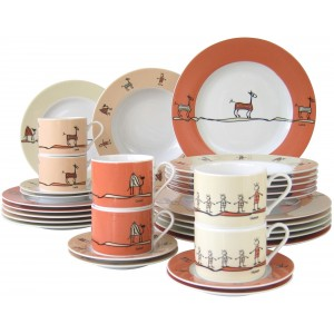 Combinatieservies Urban Style (30-delige set)